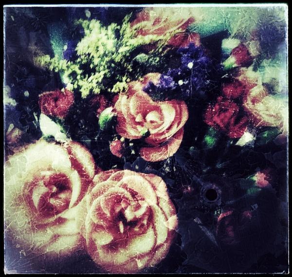 Birthday Bouquet by Monochrome2004