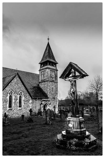 Dark day at Church by TornadoTys