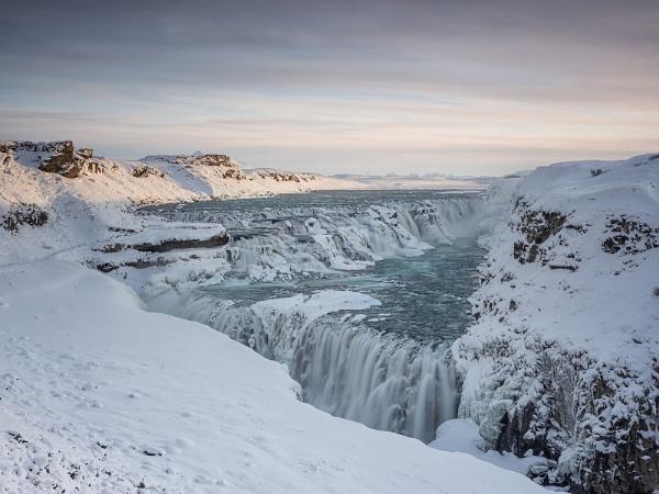 Gulfoss, Iceland by Leedslass1