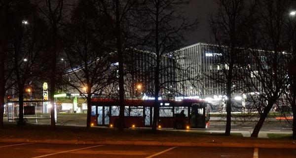 Night bus by SauliusR