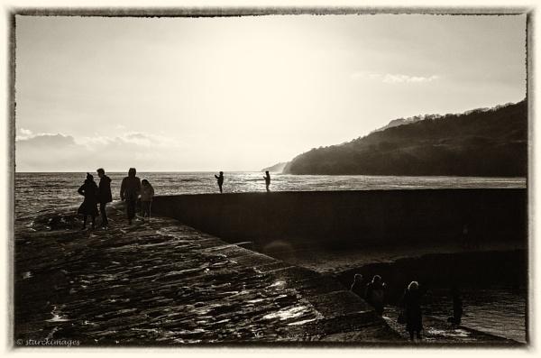 Cobb Activity, Lyme Regis by starckimages