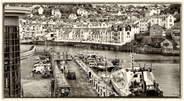 Brixham Harbour by starckimages