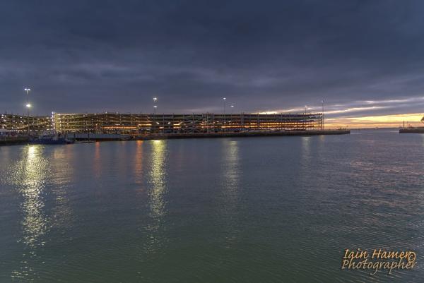 New car storage Southampton Docks by IainHamer