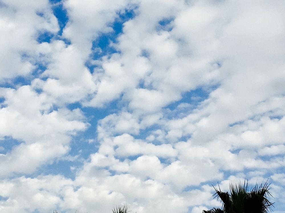 How the sky looks beautiful