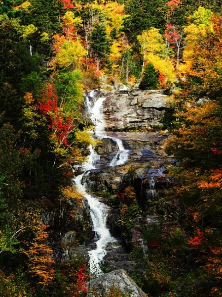 Autumn Waterfalls by jrsundown
