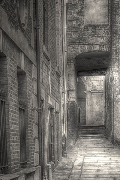 The Alley by Houndog18