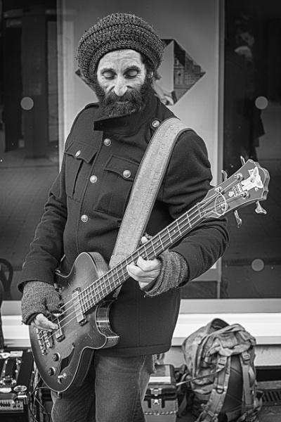 Street Musician  by Houndog18