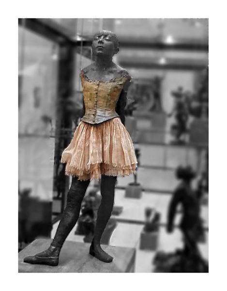 Degas - La petit ballerine by Lontano