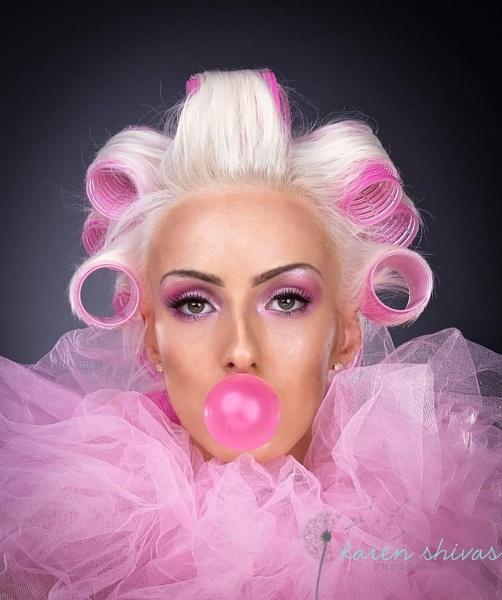 Pink bubblegum by karen1961