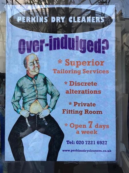 Amusing London signs... by Chinga
