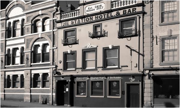 Station Hotel by dark_lord
