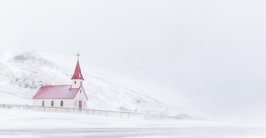 Reyniskirkja Church....