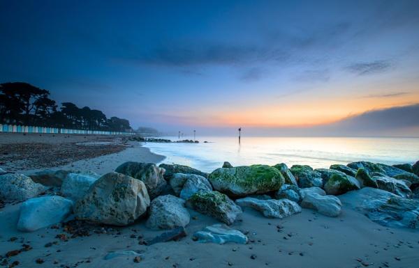 Misty Beach by NickLucas