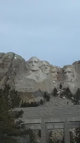 Mount Rushmore by jube1969