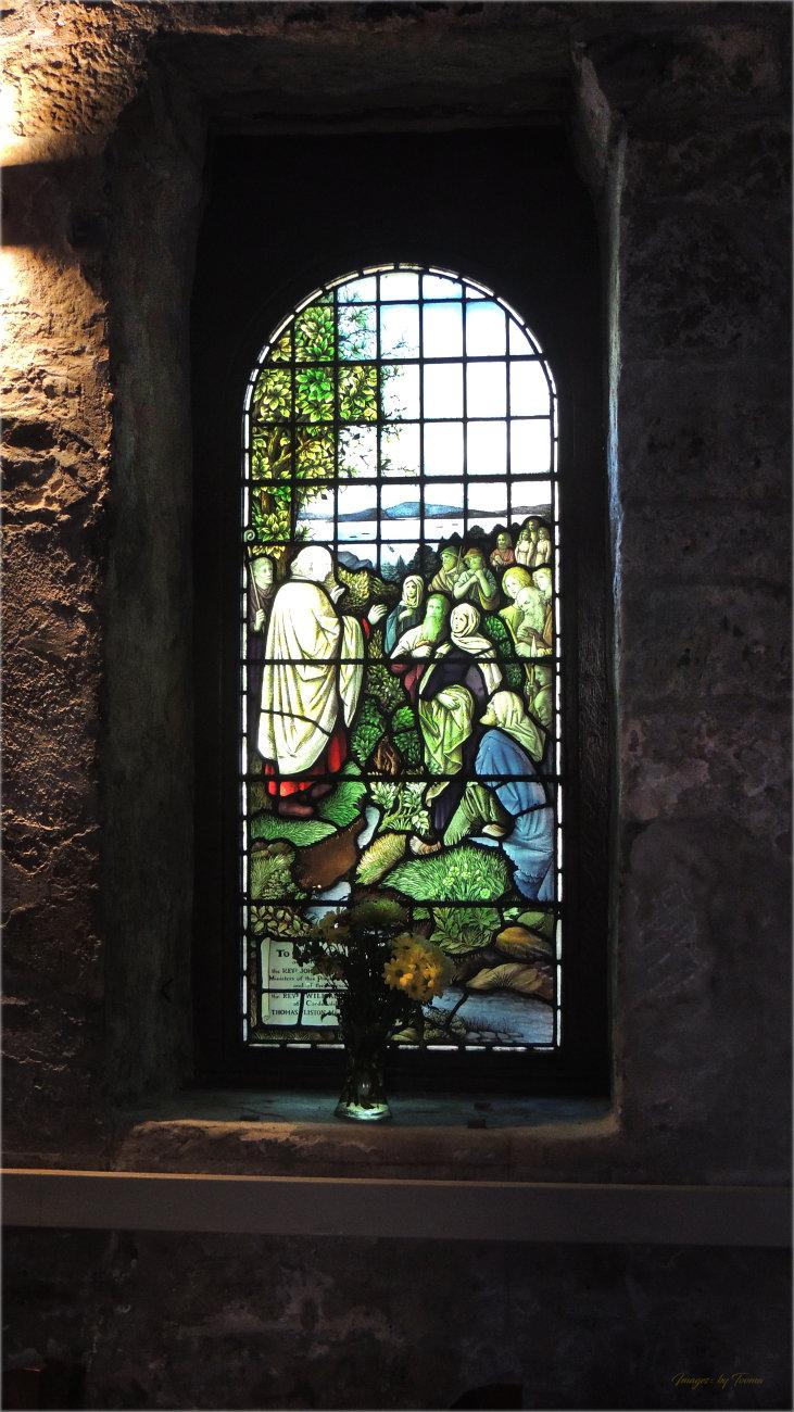 Window Detail from St Fillan's Church.