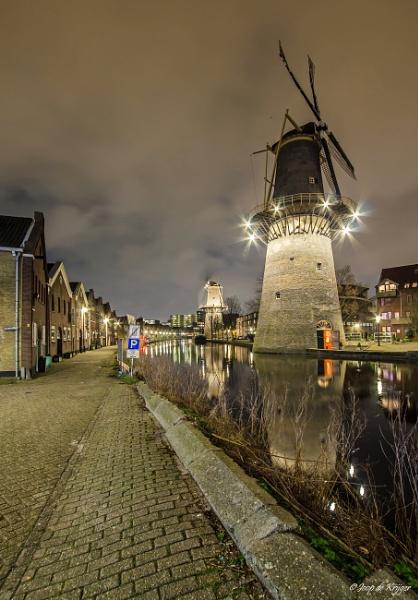 Mill at night 2 by joop_