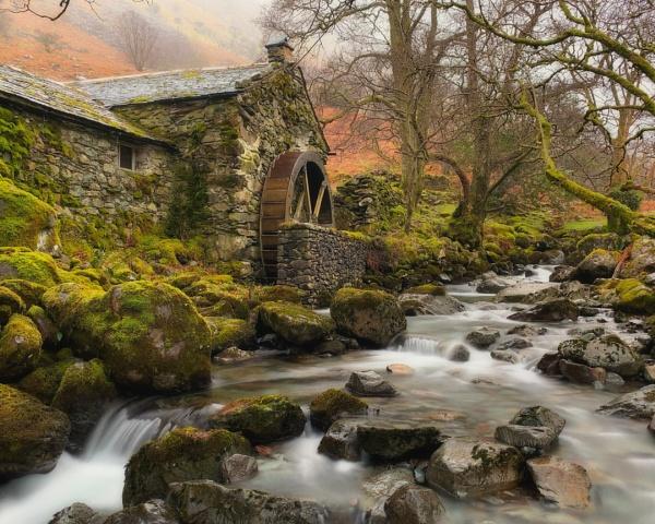 Secret Mill, Borrowdale by dunfr
