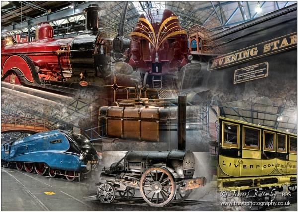 National Railway Museum Montage by TrevBatWCC