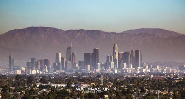 LA at Dusk by paskinmj
