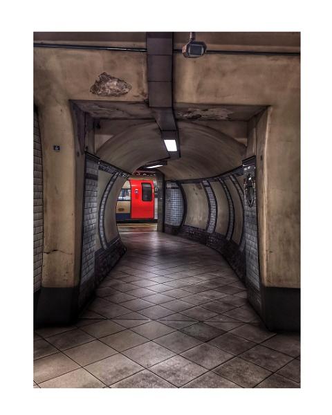 Towards the red door by StevenBest