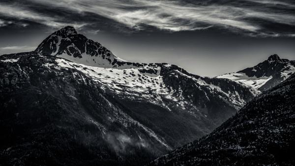 Skagway Mountain Tops II by Yogendra