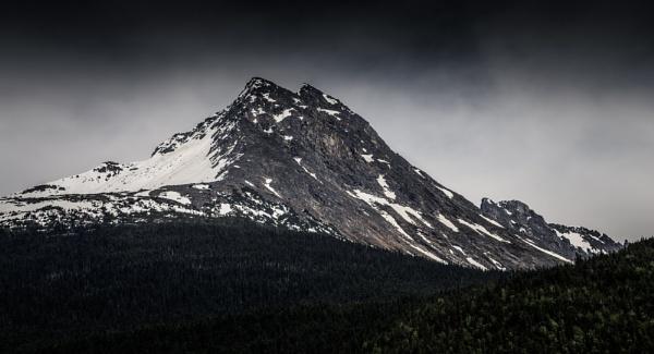 Skagway Mountain Tops V by Yogendra