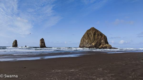 Haystack Rocks - Seaside Oregon by Swarnadip