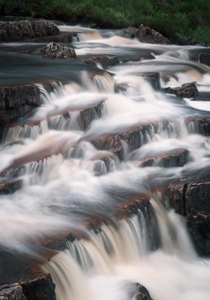 Drumrunie Falls,  River Runie by trailguru