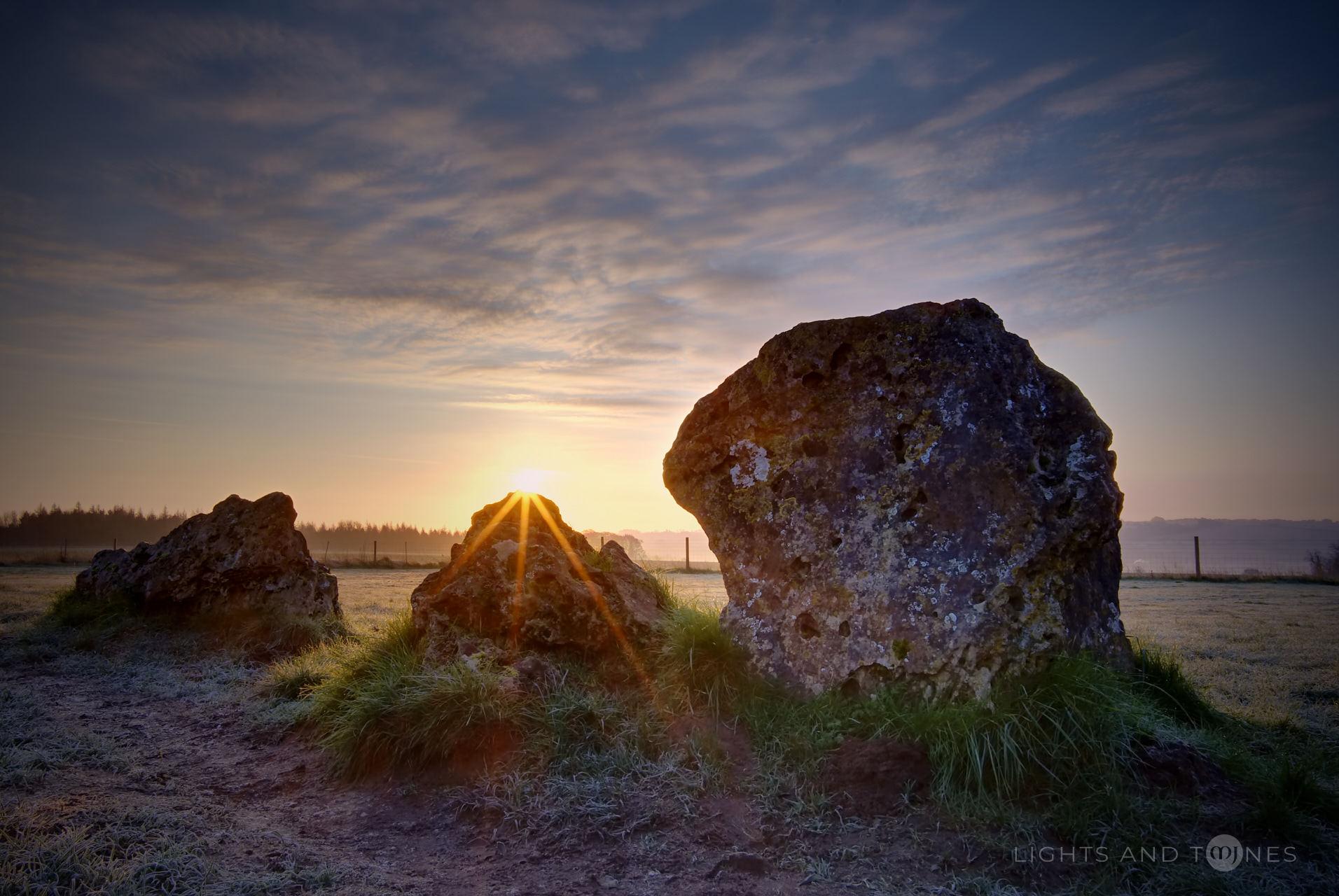 Sunrise At Rollright Stones II.