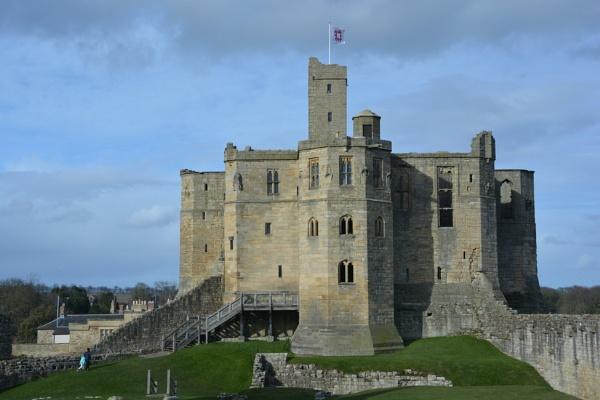 Warkworth Castle and Hermitage by jimbob133