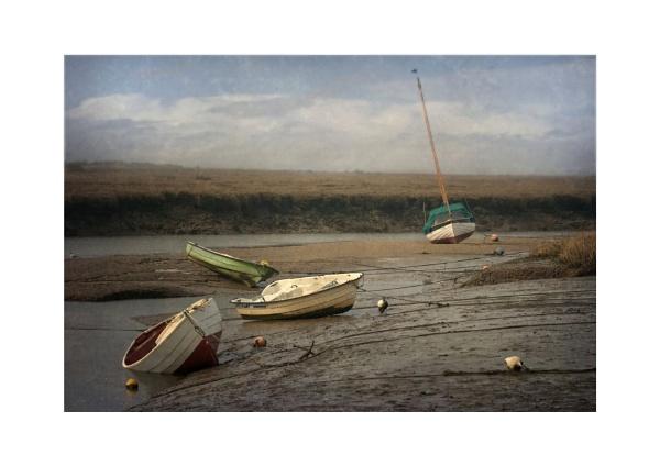Low Tide,Blakeney by BigAlKabMan