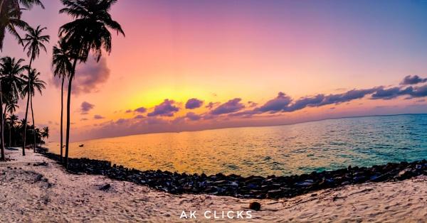 Safa beach. Lakshadweep Island by ashokynk