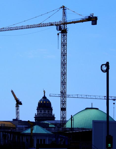 Berlin Cranes by FotoDen