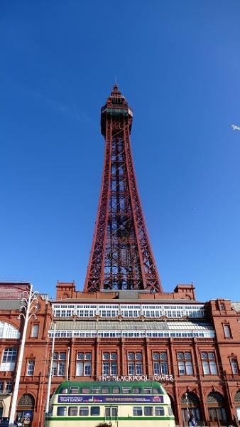 Blackpool tower by Arnie64