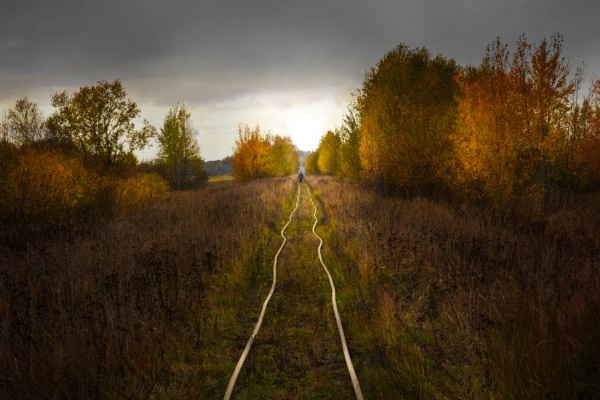 Abandoned railway by grulis