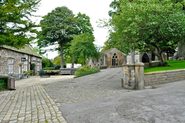 Grounds of Skipton Castle, Yorkshire by jerseygirl65