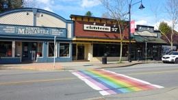LGBTQ walkway, Ft. Langley