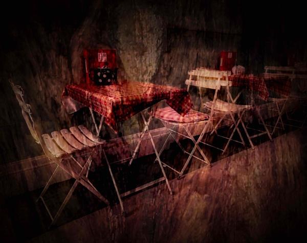 The Cafe Scene by adagio