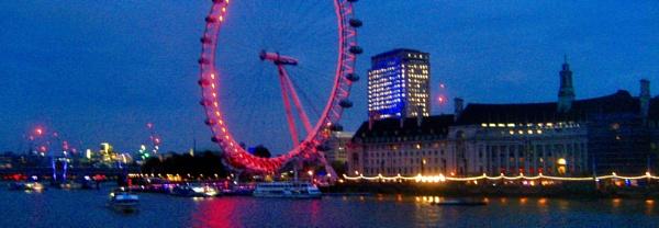 The London Eye. by Pinarellopete
