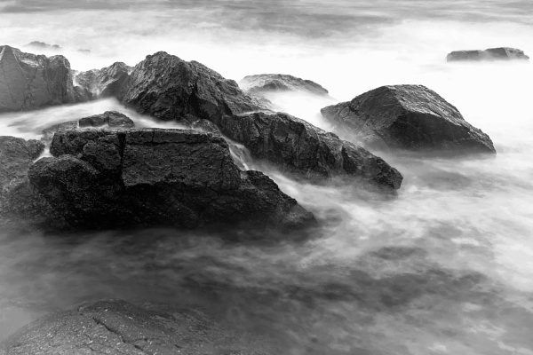 Rocks ,water and wind by Saastad