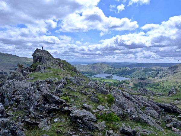 Helm Crag, Lake District. by Debmercury
