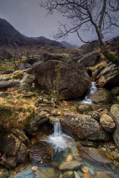 Welsh Mountain Stream by Brenty