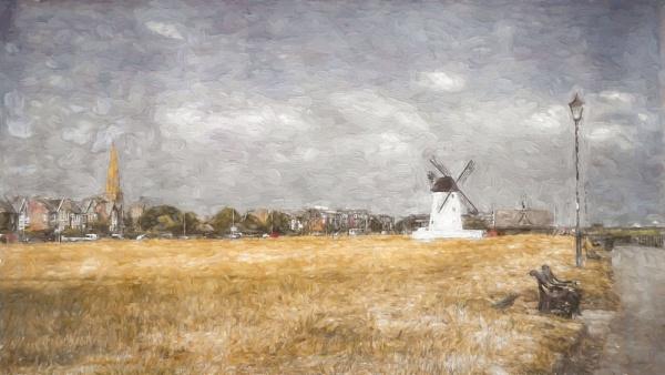 Windmill at Lytham by jonirock