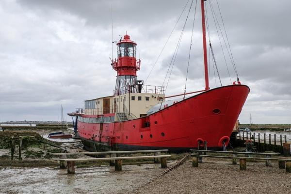 Lightship at Tollsbury Essex UK by 64Peteschoice