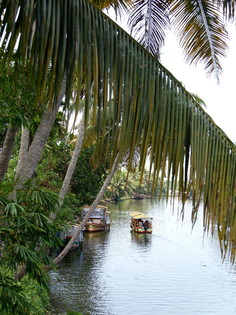 Beautiful Backwaters, Kerala ..