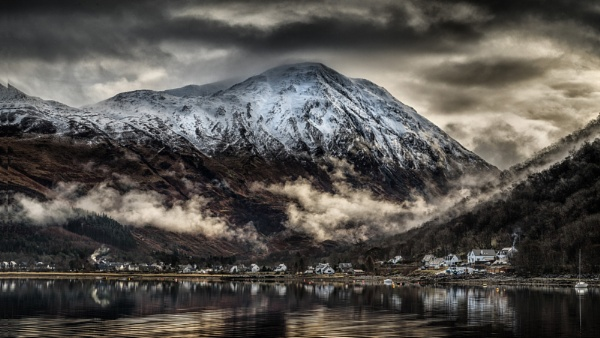 Early Morning Mist over Glencoe by Pete2453