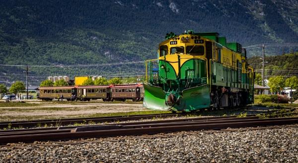 Skagway Train II by Yogendra
