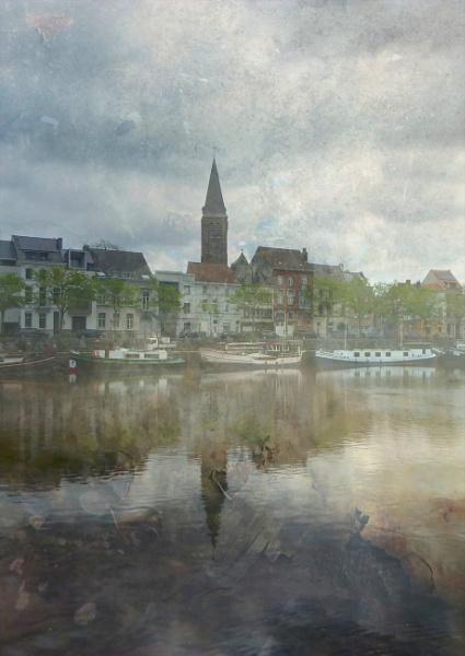 Flemish Scene (Portus Ganda) by Philip_H