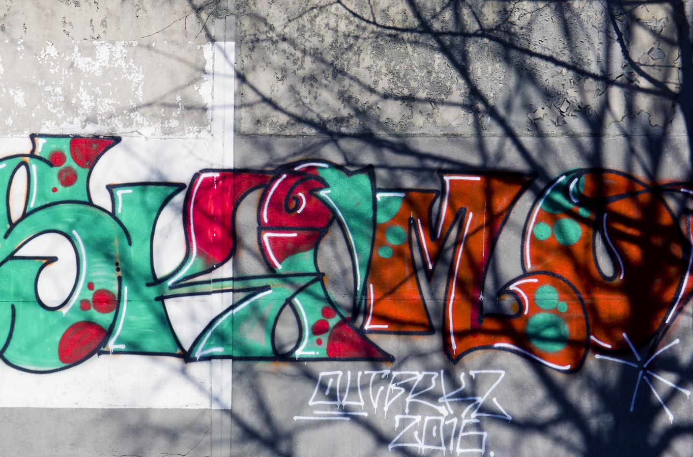 Graffiti and Shadows