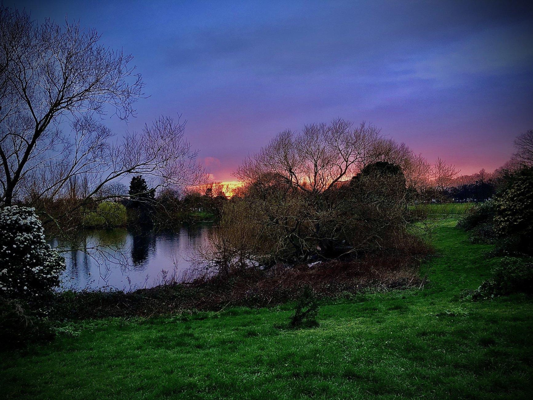 Dagenham sunset